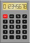 calculator, maths, retro