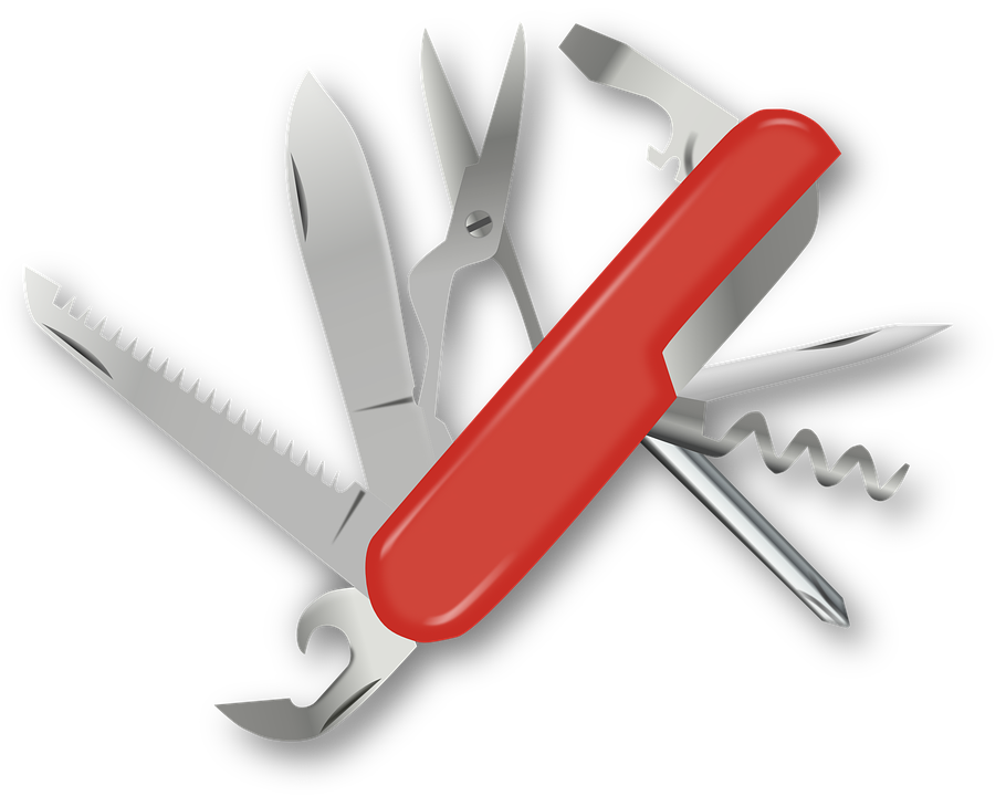 Free Vector Graphic Swiss Army Knife Pocket Knife Free