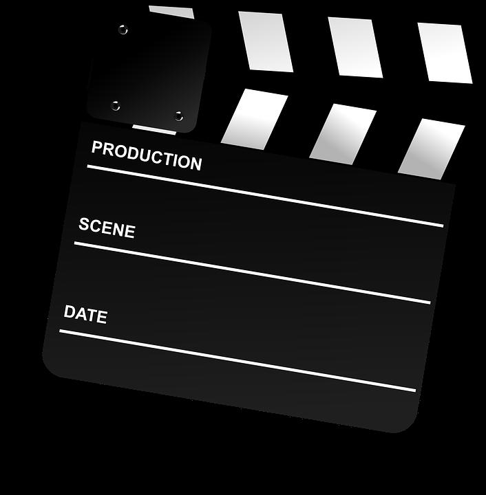 cinema clapboard clapper board free vector graphic on pixabay. Black Bedroom Furniture Sets. Home Design Ideas