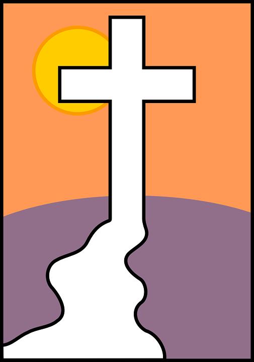 jesus calvário cristã gráfico vetorial grátis no pixabay
