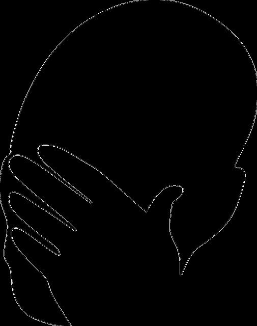 Ashamed Sad Silhouette · Free vector graphic on Pixabay | 505 x 640 png 39kB