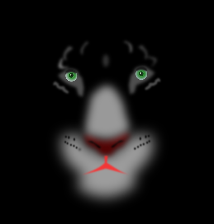 Harimau Kumbang Wajah Hewan Kucing Gambar Vektor Gratis Di Pixabay
