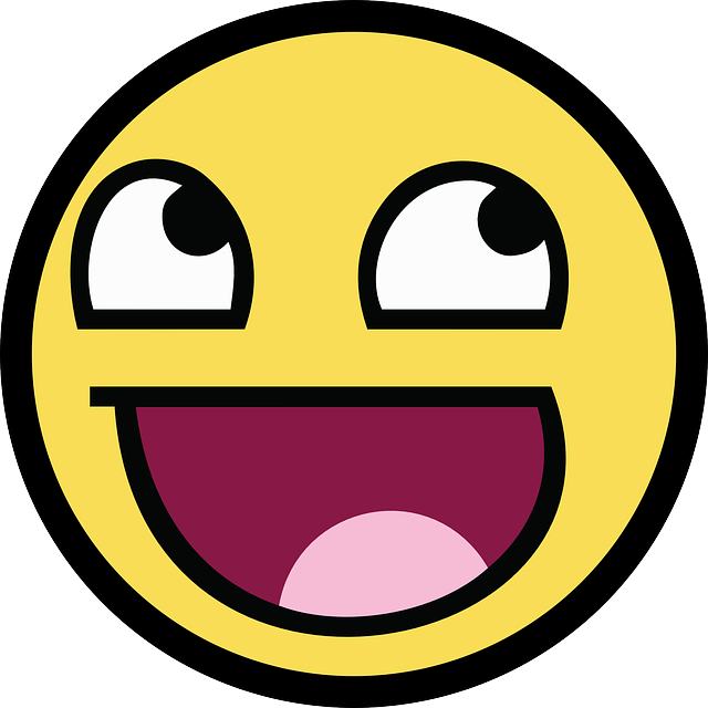 Free vector graphic: Smiley, Awesome, Smile, Happy - Free ...