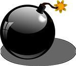bomb, explosive, detonation