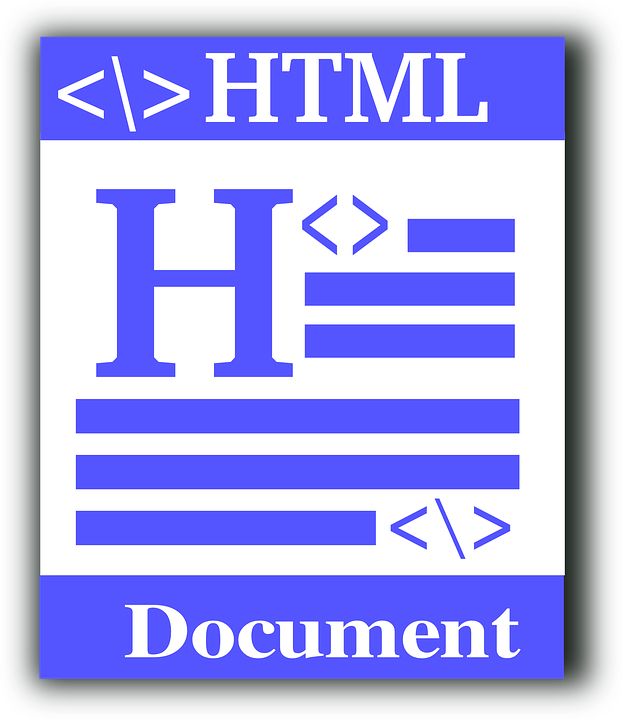 free vector graphic  html  file type  source code  code