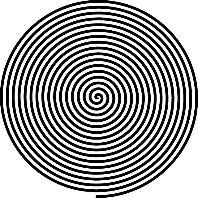 hypnosis spiral round  u00b7 free vector graphic on pixabay