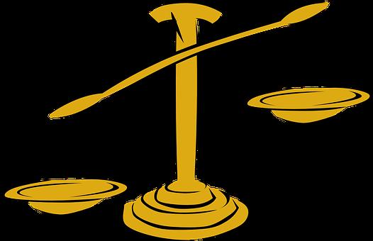 L'Équilibre, Échelle, La Justice, La Loi