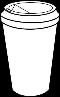 Coffee Cup Takeaway Plastic Drink Beverage