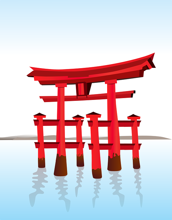 Free Vector Graphic Shinto Japanese Gate Free Image