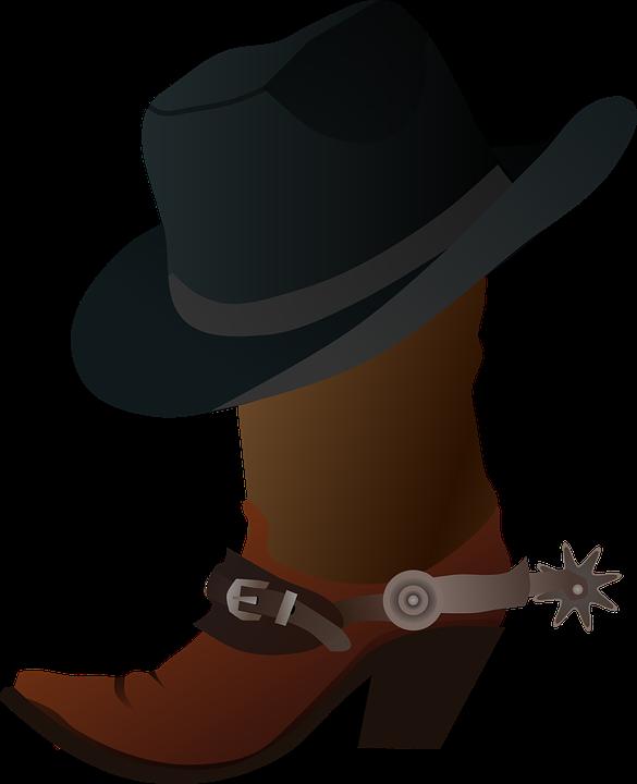 Espuelas Vaquero Botas - Gráficos vectoriales gratis en Pixabay 056ce7a0c41