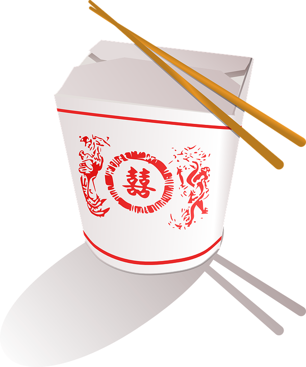 Takeaway Chinese Fast Food Free Vector Graphic On Pixabay