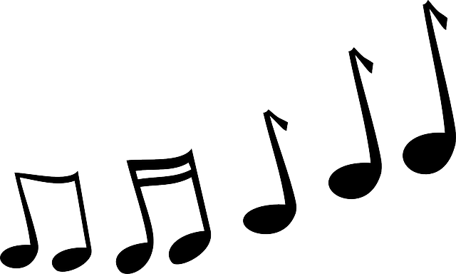 Melody Music Notes · Free vector graphic on Pixabay  Melody Music No...