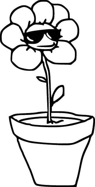 Bunga Tanaman Pot Gambar Vektor Gratis Di Pixabay