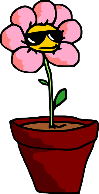 free vector graphic flower  plant  pot  potted plant Free Clip Art Fancy Coffee Pot Funny Morning Coffee Clip Art