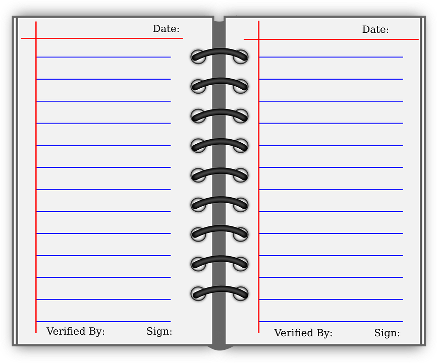 logbook journal study free vector graphic on pixabay