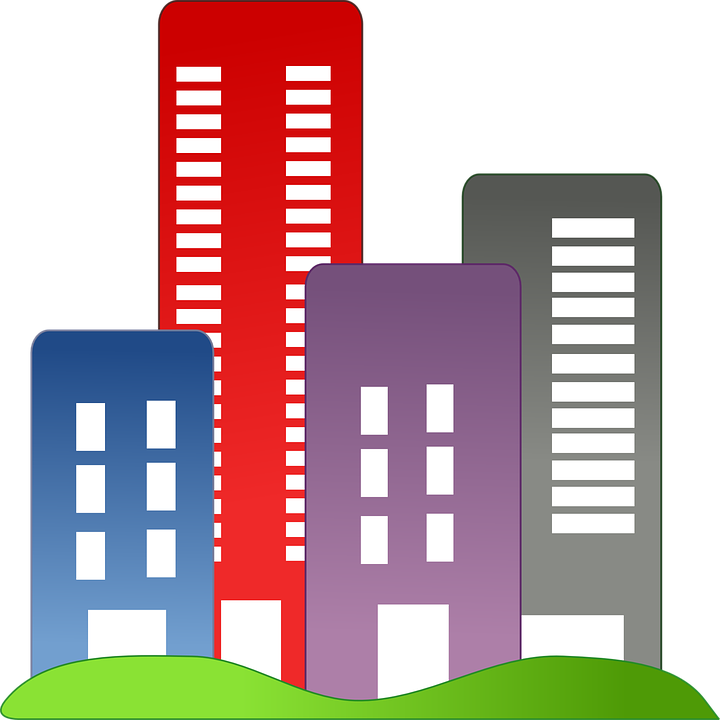 Housing Buildings City Apartment Blocks Cityscape
