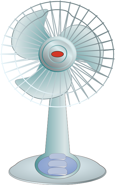 People Using Electric Fan : Fan ventilating cooling air · free vector graphic on pixabay