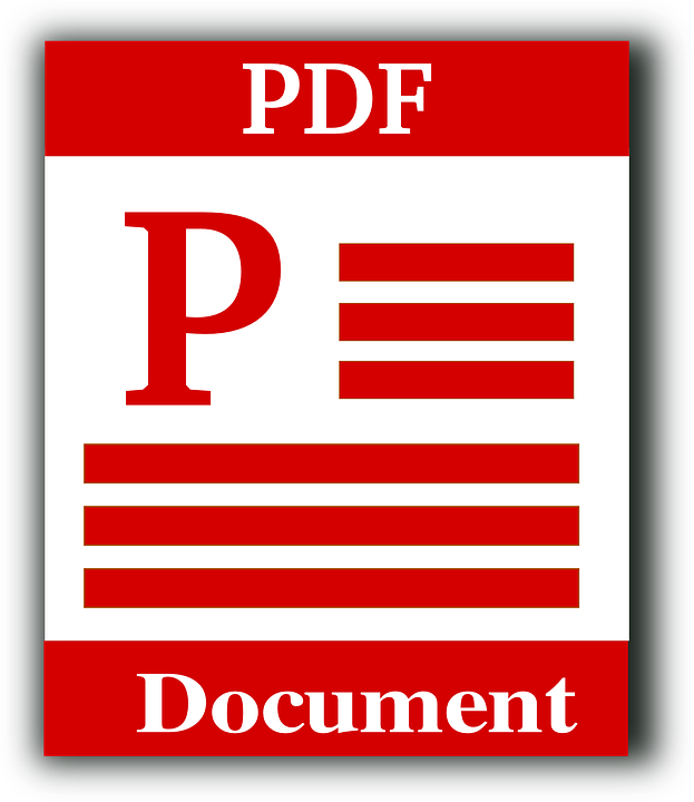 File Type Pdf Portable Document · Free Vector Graphic On