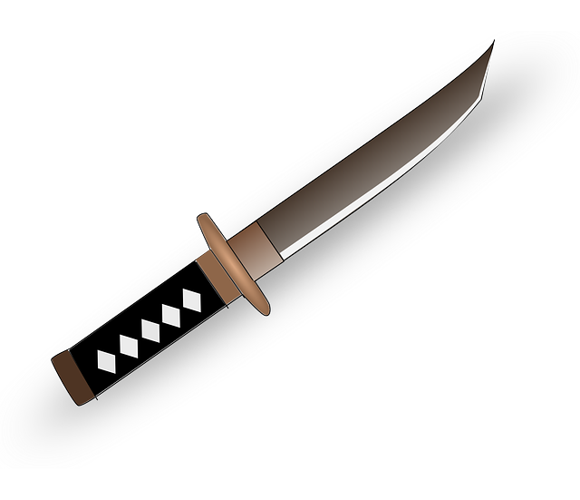 Free Vector Graphic Knife Blade Japan Japanese Free