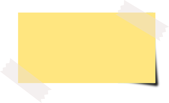 Note Sticky Yellow · Free vector graphic on Pixabay