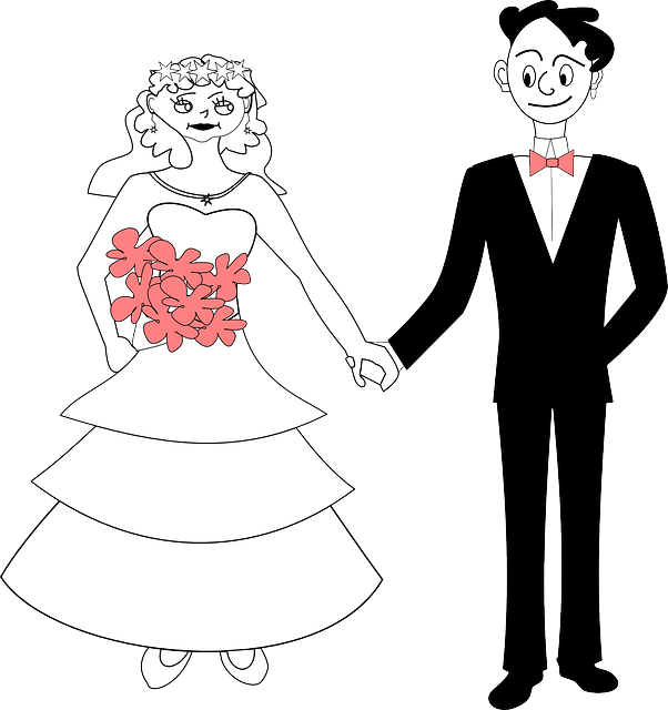 Wedding Couple Clipart Png: Wedding Bride Groom Holding · Free Vector Graphic On Pixabay