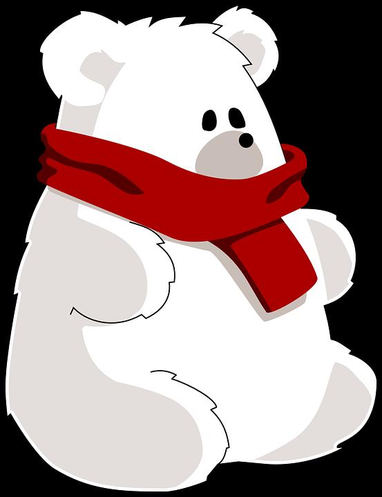 Polar bear ice free vector graphic on pixabay polar bear ice bear bear scarf toy cold altavistaventures Choice Image