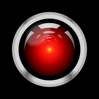 Artificial Intelligence Hal 9000 Computer