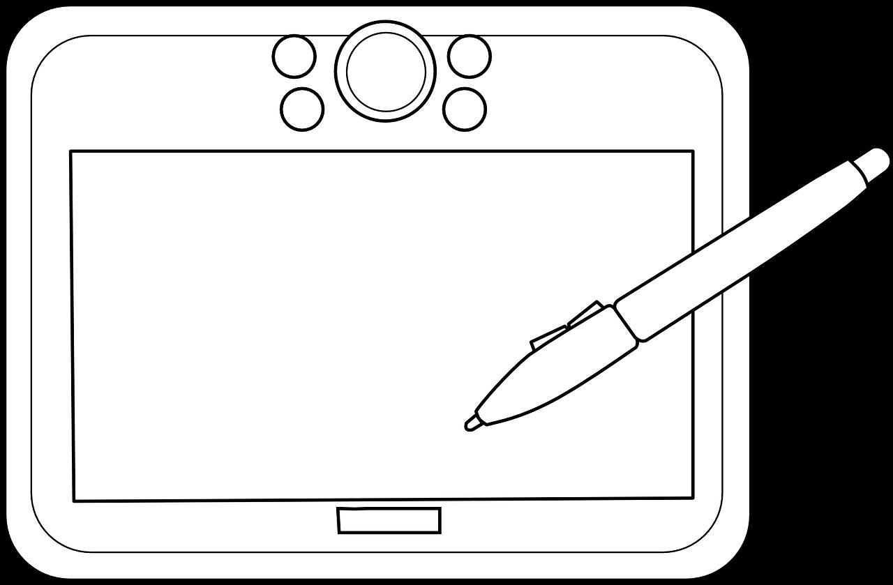 Раскраски на планшете для детей 124