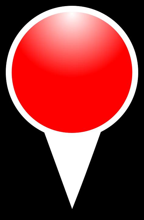 Free Vector Graphic Map Marker Pin Pushpin Push Pin
