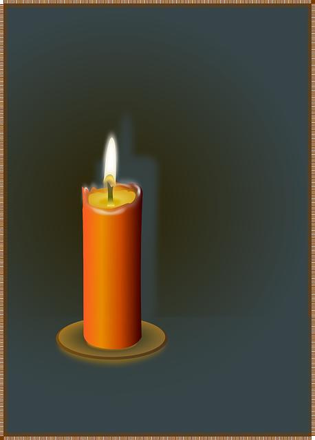 bougie flamme la cire le  u00b7 images vectorielles gratuites