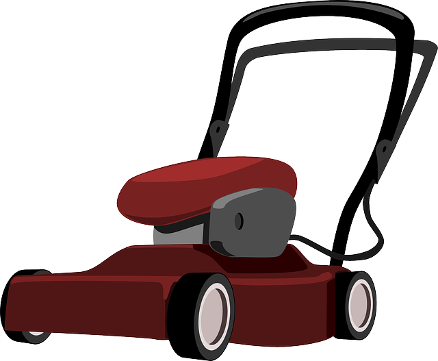 lawn mower vector - photo #4