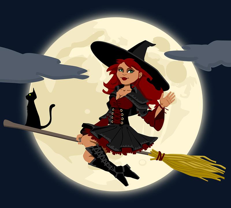 Image vectorielle gratuite sorci re sorcellerie balai image gratuite sur pixabay 155291 - Image de sorciere ...