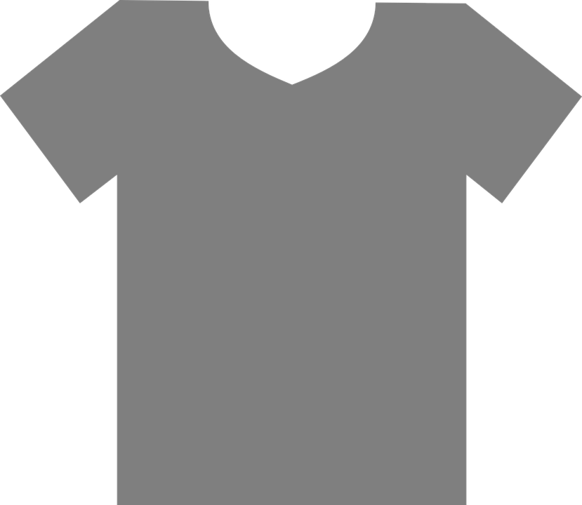 T Shirt Gray Blank Free Vector Graphic On Pixabay