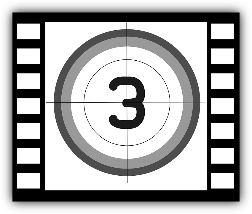 Countdown Cinema Film Free Vector Graphic On Pixabay