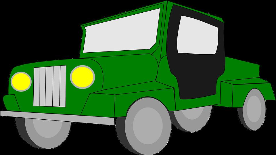 940+ Gambar Mobil Jeep Kartun Gratis