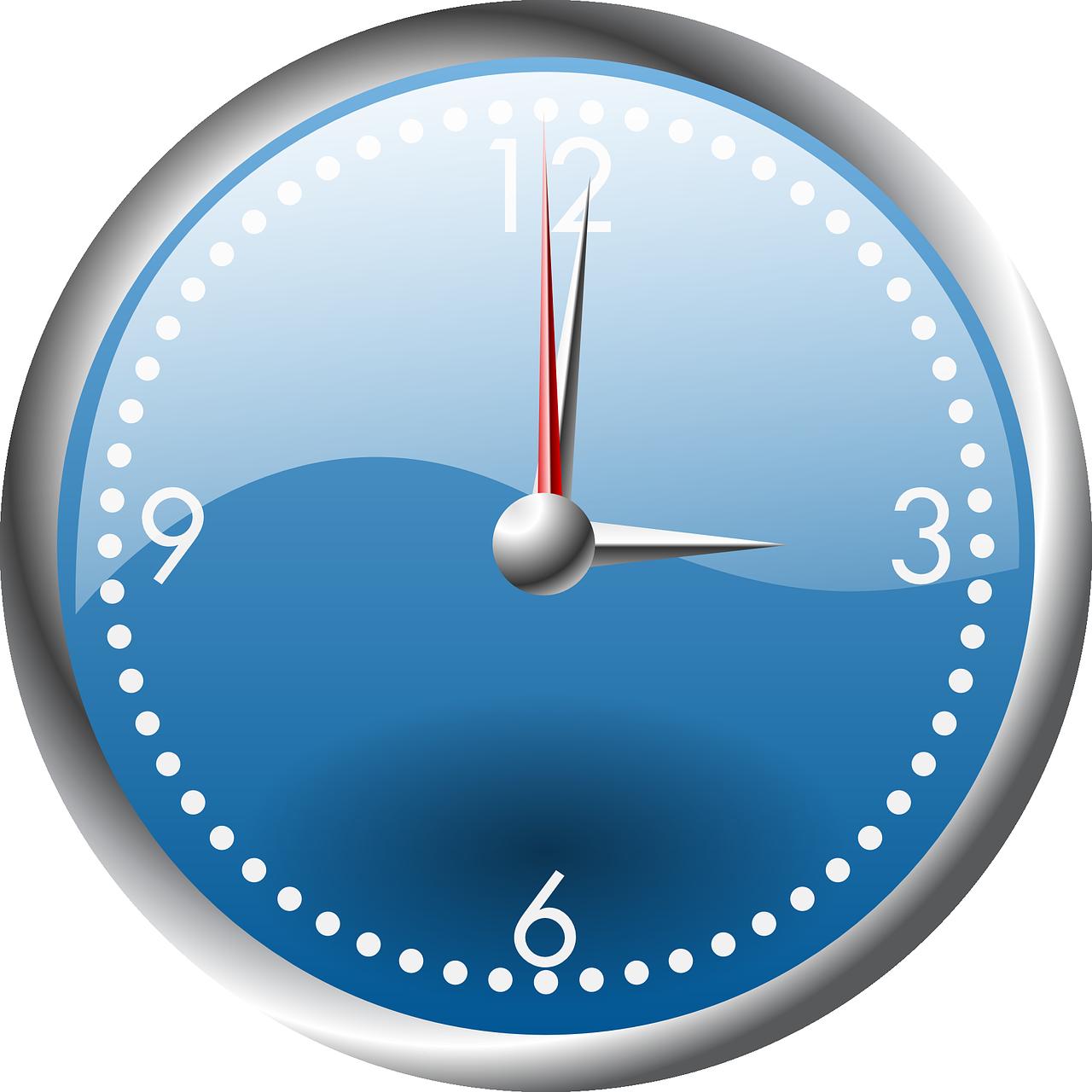 Время часы векторная картинка