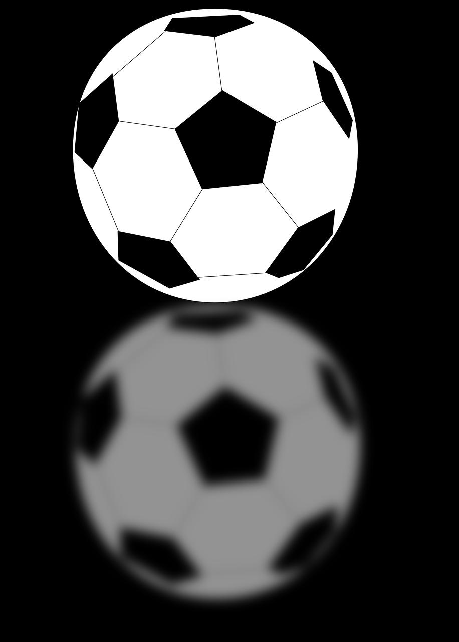 Футбольный мяч картинка черно-белая, открытке поздравления картинках