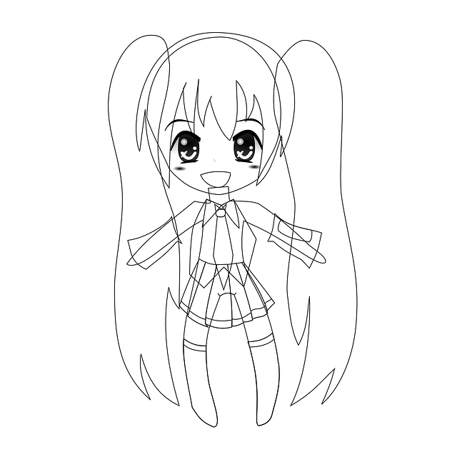Anime Girl Cute Free Vector Graphic On Pixabay
