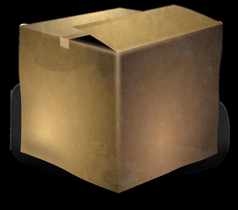 cardboard box png. cardboard box package parcel brown png