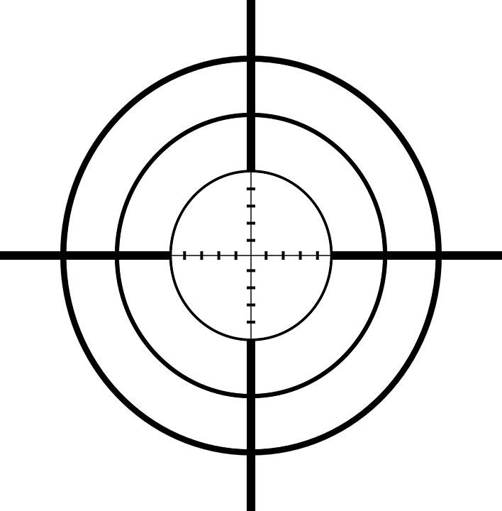 Sniper Cross Hairs Rifle 183 Free Vector Graphic On Pixabay