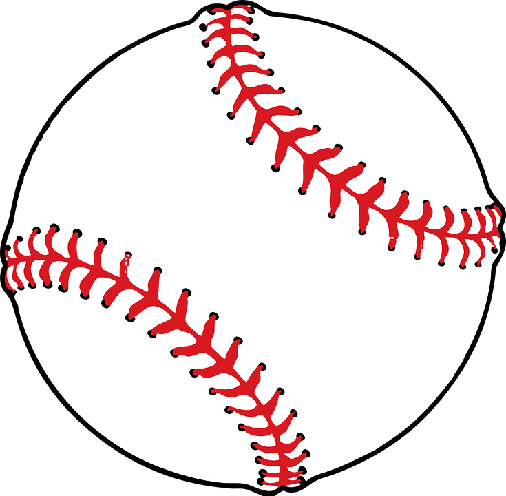 baseball ball softball free vector graphic on pixabay rh pixabay com baseball vector logo baseball vector art free