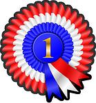 award, prize, ribbon