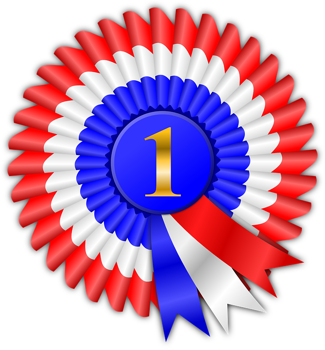 1st prize ribbon template - award prize ribbon free vector graphic on pixabay