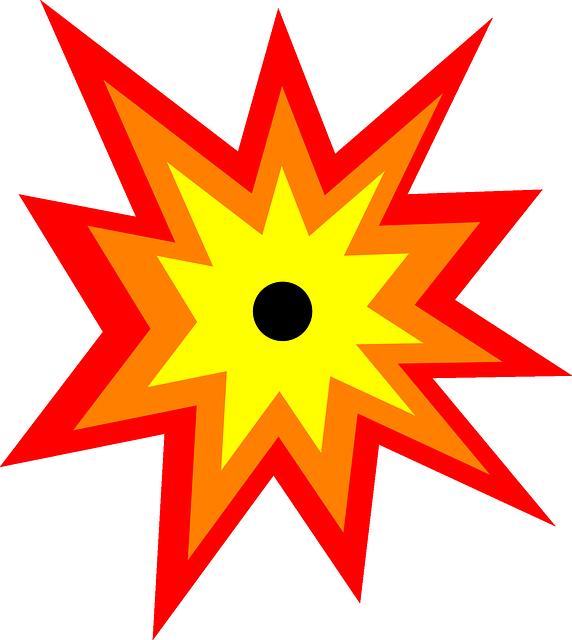 free vector graphic  explosion  detonation  blast  burst - free image on pixabay