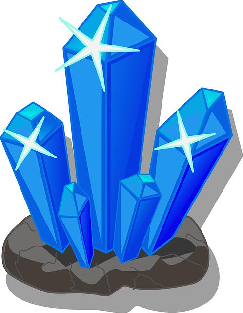 Free vector graphic: Crystals, Minerals, Salt - Free Image ... Quartz Clipart