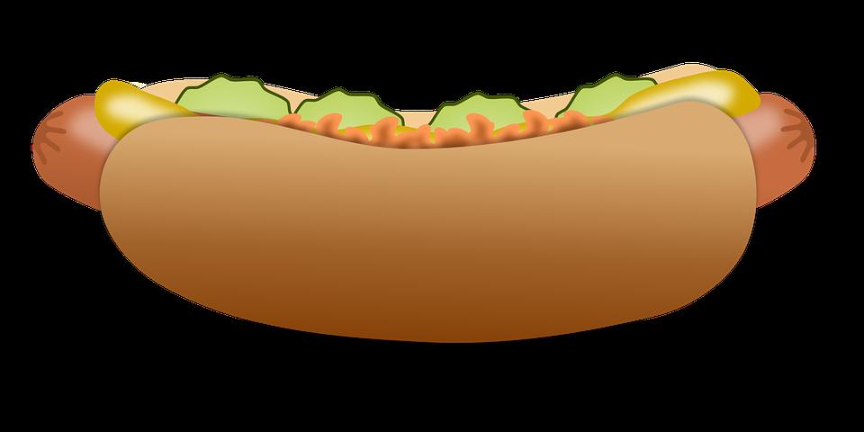 Free vector graphic: Hotdog, Fast Food, Food, Sausage - Free Image ...