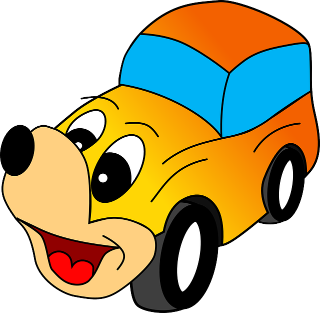 Car Cartoon Dog · Free Vector Graphic On Pixabay