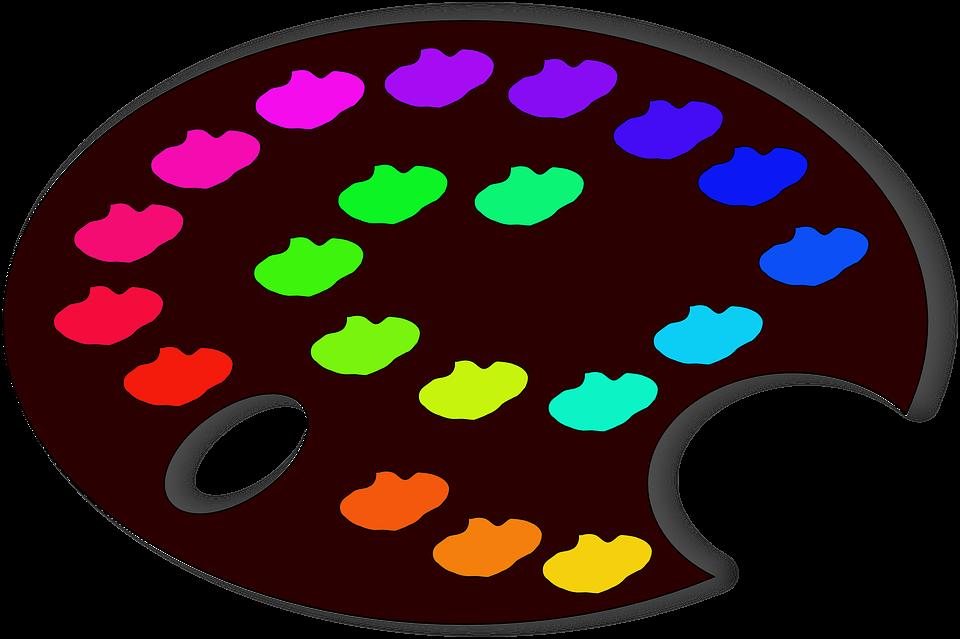 Placa De Muestra Paleta Colores · Gráficos vectoriales gratis en Pixabay