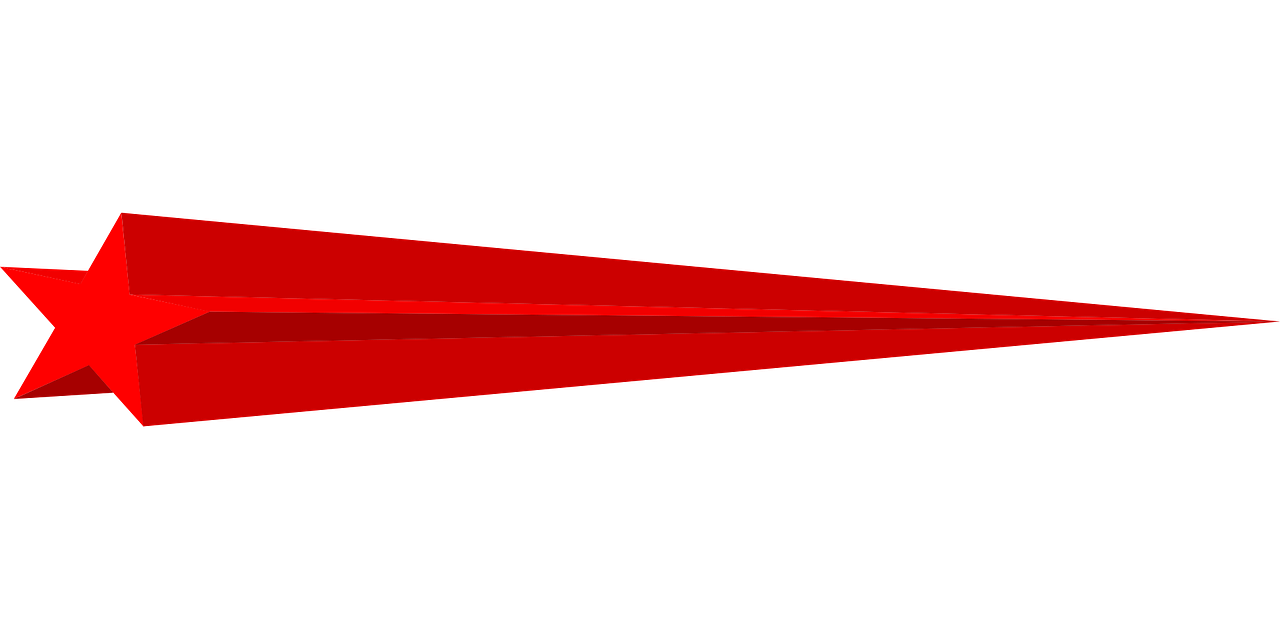 Shooting Star Meteor Red - Free vector graphic on Pixabay