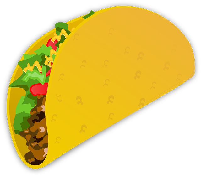 Taco Wrap Food 183 Free Vector Graphic On Pixabay